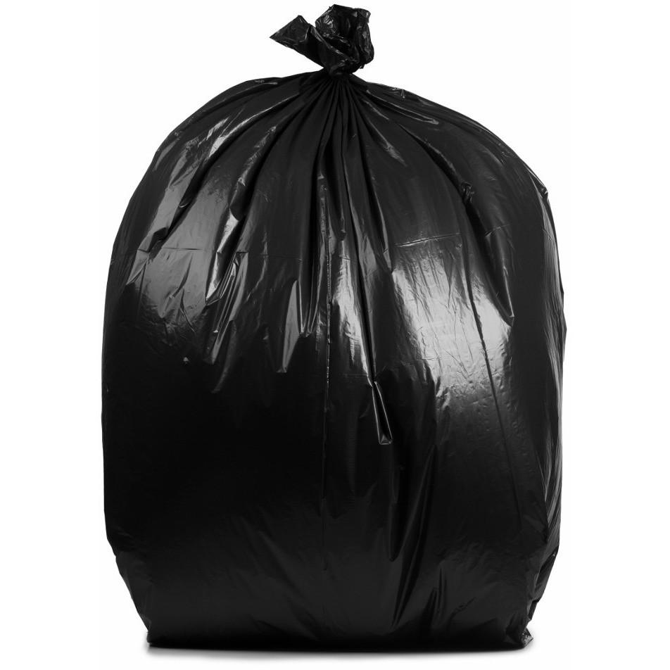 12-16 Gallon High Density 24''W x 33''H Trash Bags , 1000 Per Case