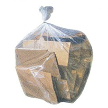 "55-60 Gallon Low Density 43""W x 46""H Trash Bags , 100 Per Case"