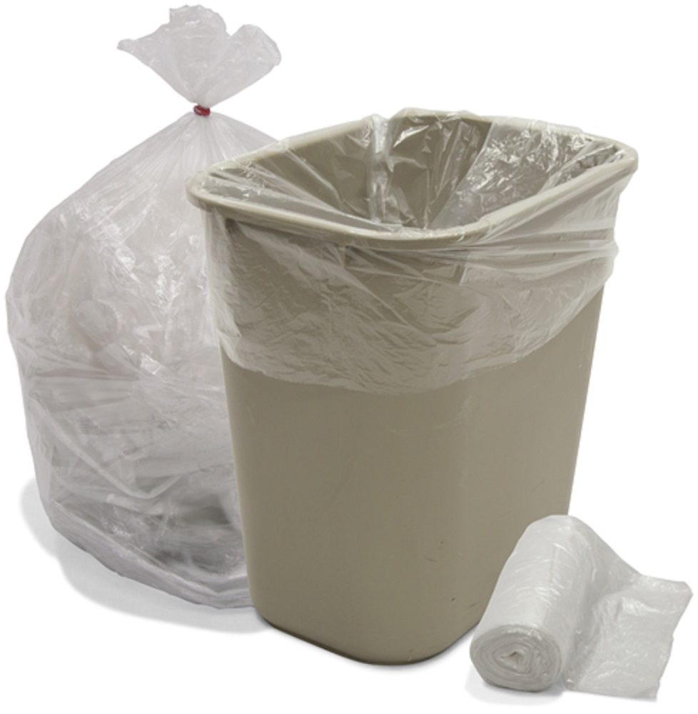6 Gallon High Density 20''W x 22''H Trash Bags , 2000 Per Case